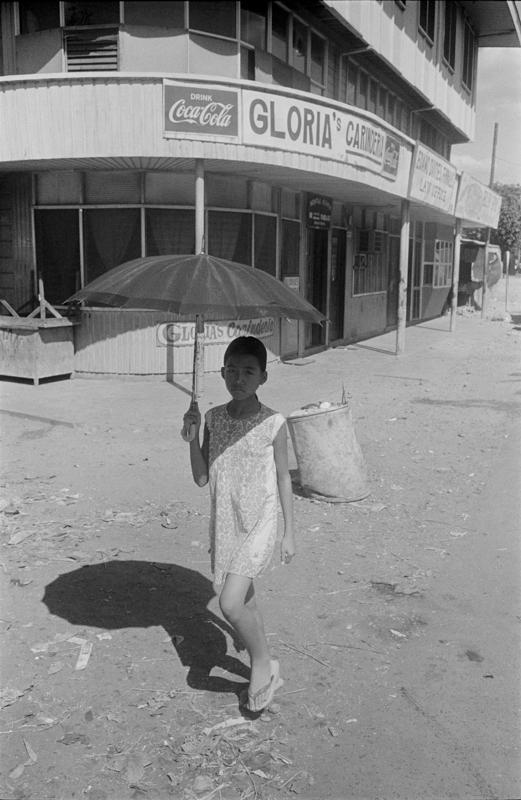 1969 Pillipines-young girl under umbrella.jpg