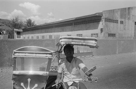 1969 Phillipines-Man on scooter taxi.jpg