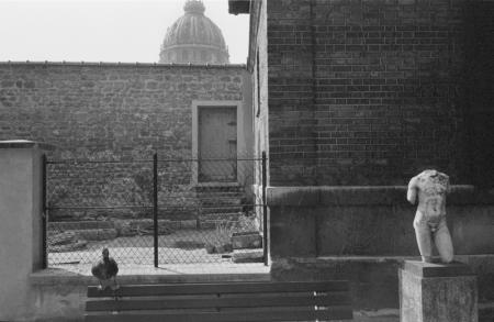 1979_Paris  duck and statue.jpg